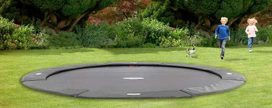 An In Ground Trampoline Will Make Your Garden Right Up To Date! By Having  Your Trampoline Dug Into Your Lawn, You Gain Fun For All The Family.