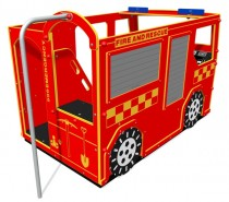 Fire Engine rear view