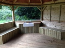 Sink end of Eco Classroom