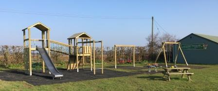 Woodland Climber and swings