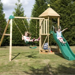 Castlewood Tower Climbing Frame Tp Ngf Play Norfolk