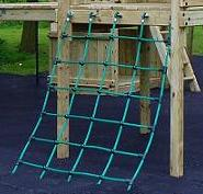inclined climbing net